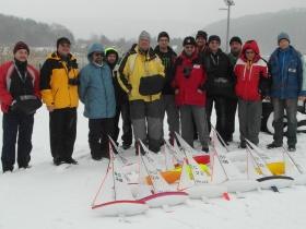 14 hajó, 14 futam, mínusz 4 fok és havazás