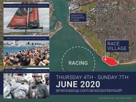 2020 – ban újra lesz America's Cup World Series Portsmouth - ban