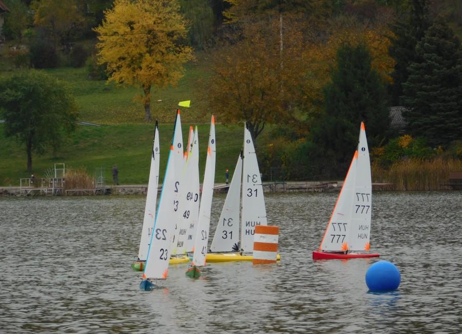 2020.10.23-25. Modellvitorlás regatta hétvége Orfűn