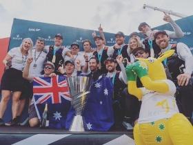 A Team Australia nyerte a SailGP első szezonját, és vele az 1 millió dollárt is