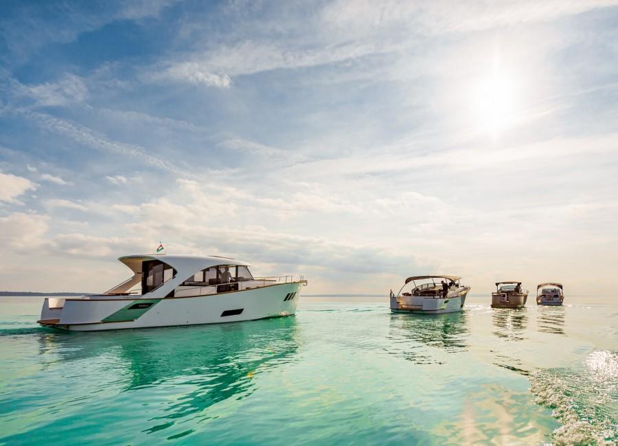 A tisztább vizekért is versenyeznek az e-hajósok