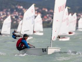 Balatoni Yacht Club - Zárónap az Optimist nyílt Országos Bajnokságon