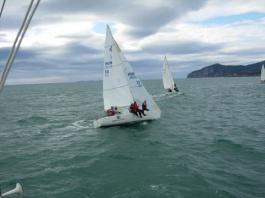 Litkey Farkas az olasz vízeken készül a J24 VB-re