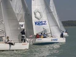 84 hajó 330 versenyző a Kenesei Szezonnyitón