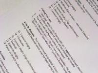 Osztályelőírások módosítása