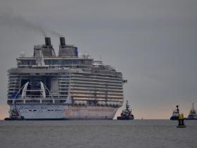 Elkészült a legnagyobb üdülőhajó