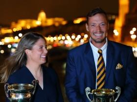 Érdi Mária és  Berecz Zsombor lett az év vitorlázója 2020 - ban is!
