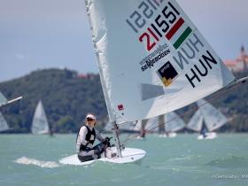 Érdi Mária megnyerte a flottabajnokságot a Balatonon!