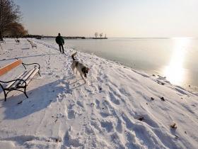 Felhízlalta a Balatont a sok hó