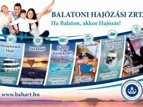 Idén nyáron is: Ha Balaton, akkor Hajózás!