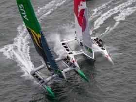 Ismét Aussie győzelem San Francisco – ban a Sail GP – n