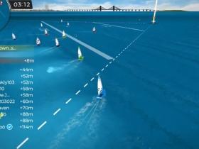 Ismét olimpiai és VB helyszíneket jártak be a szombati Virtual Regattán