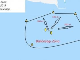 Kékszalagos versenyzőknek figyelem: Hajózási zárlat Kenesénél!