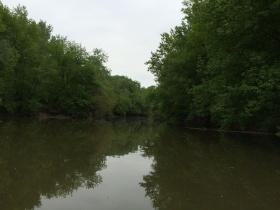 Kenuval a Sió csatornán
