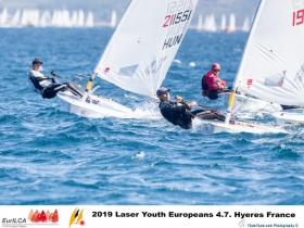 Két Magyar az aranycsoportban a Laser 4.7 EB - n