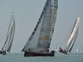 Közel száz hajóval rajtol szombaton a XIV. Dér Kupa