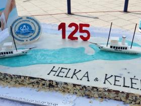 Különleges torta 125 éves Kelén és Helka nosztalgiahajóknak