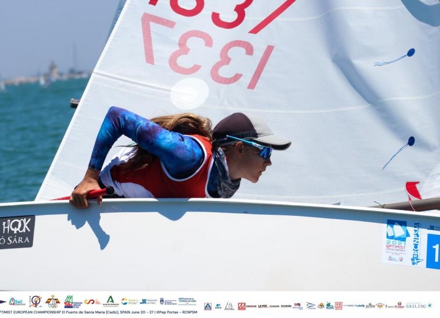 Lackó Sára szerepelt a legjobban az Optimist Európa-Bajnokságon!