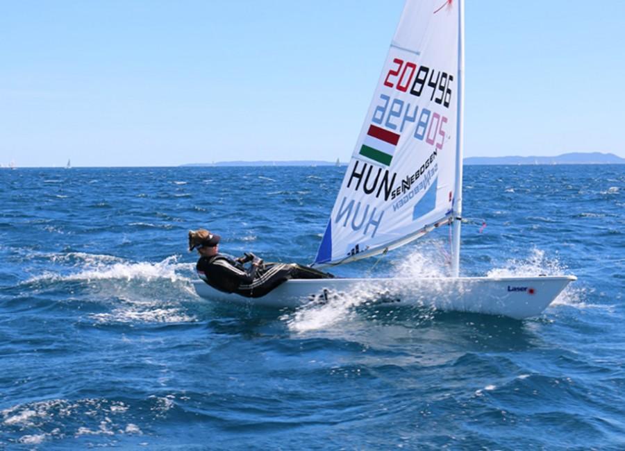 Lanzarote Olympic Winter Series: Érdi Mária az ötödik helyen zárta a hétfői napot