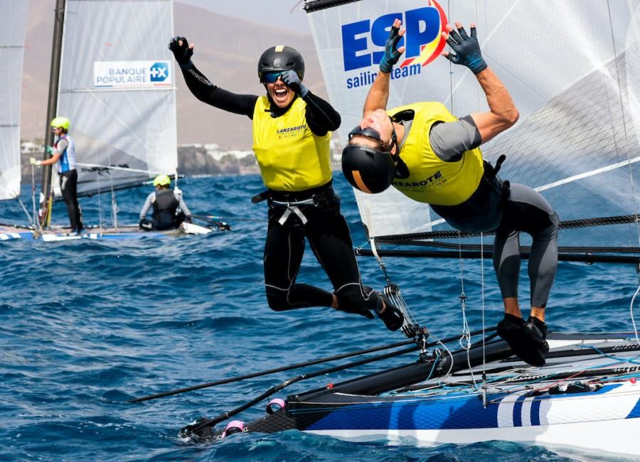 Lanzarote Winter Series: erős széllel búcsúzott a verseny