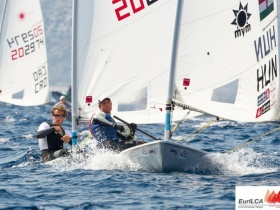 Laser EB: Olimpiai szint fölött a magyarok!