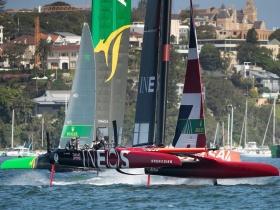 Magabiztos Brit győzelem Sydney – ben a Sail GP idei első versenyén