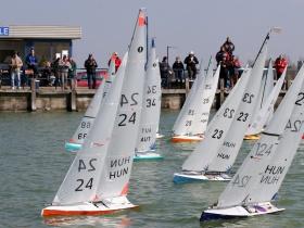 Magyarországon először IOM flottabajnokság