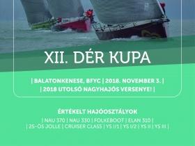 Már 12 éve az El-Yacht Dér Kupa zárja a vitorlás versenyszezont!