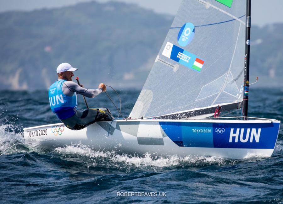 Megható lépéssel tette emlékezetessé eredményét az Olimpián ezüstérmes Berecz Zsombor
