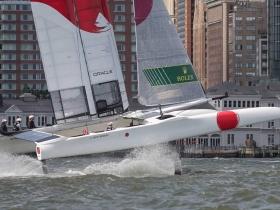 Megszületett az első Japán győzelem a Sail GP - ben New York – ban