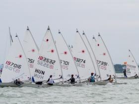 MVM Laser Flottabajnokság - eredményes első versenynap