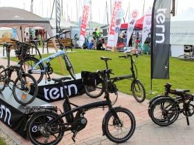 Nagy sikere  volt a Tern kerékpároknak a Balatonfüred Boat Show - n