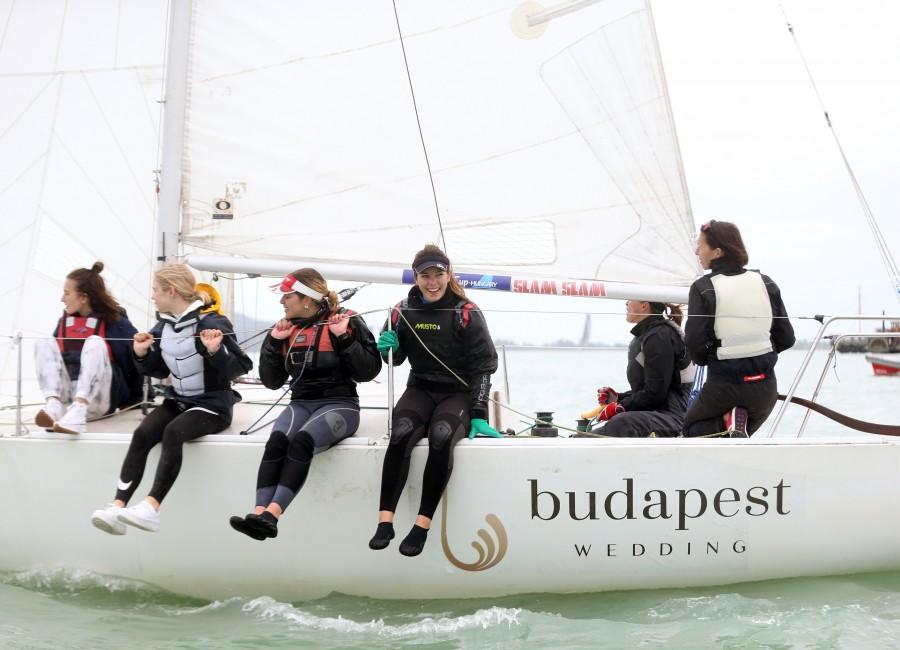 Nagy sikerrel zárult a Steering The Course női vitorlás verseny Balatonfüreden