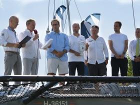 Négy hét múlva Kékszalag, sajtótájékoztatót tartott az MVSZ a vitorlázás ünnepe előtt