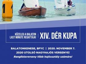 November 2-ig lehet nevezni a XIV. Dér Kupára!!!
