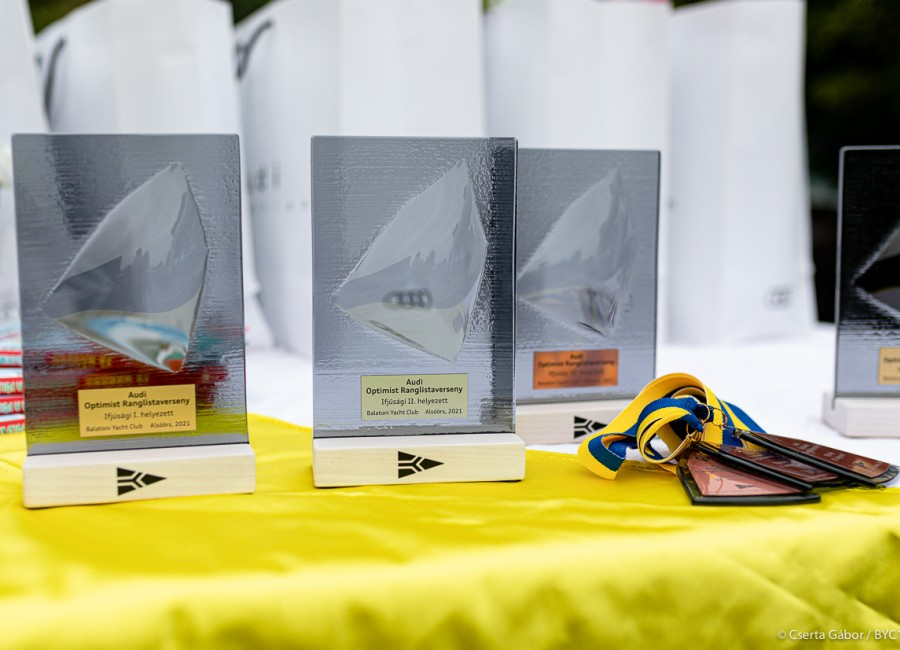 Nyolc izgalmas futammal zárult az AUDI Optimist ranglistaverseny