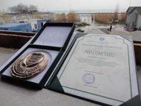 Pro Comitatu díj a Balatonfüredi Yacht Clubnak