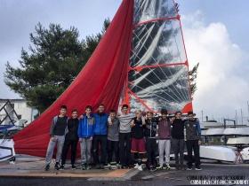 Sós víz - az első magyar tengeri 29er edzőtábor
