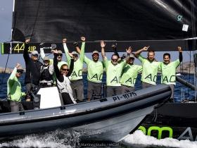 Team Aqua győzelem a Marstrand – i RC44 VB - n