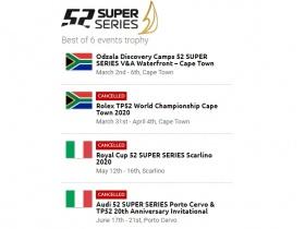 Újabb két versenyt töröltek az 52 Superseries – ben