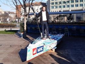 Újabb szóló óceán átevezésre készül Rakonczay Gábor egy SUP – al