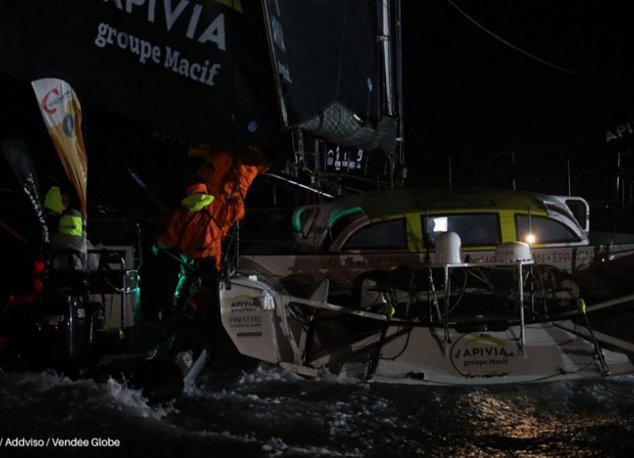 Vendée Globe: Dalin a célban, de még nem ő a győztes